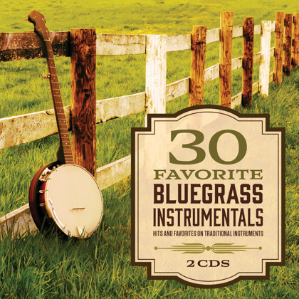 30 FAVORITE BLUEGRASS INSTRUMENTALS - 2 CDS