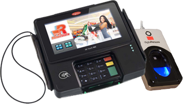Ingenico iSC Touch 480 with FREE Fingerprint Scanner