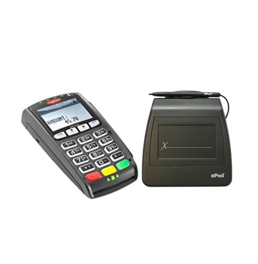 Bundle- Ingenico iPP 350 and ePadLink ePad