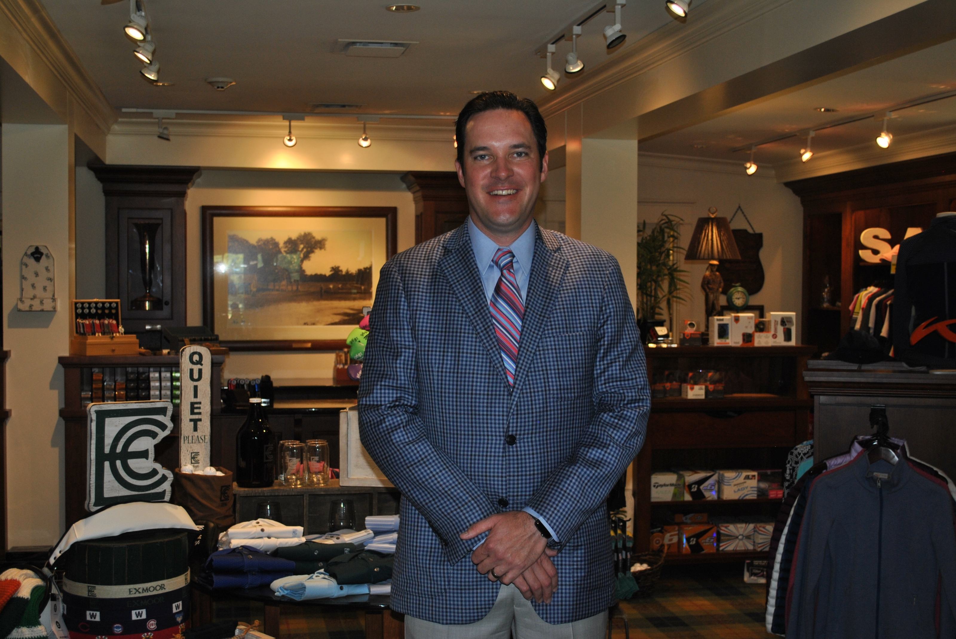 Dave Schmaltz, Head PGA Professional at Exmoor Country Club and 2017 Merchandiser of the Year - Private.