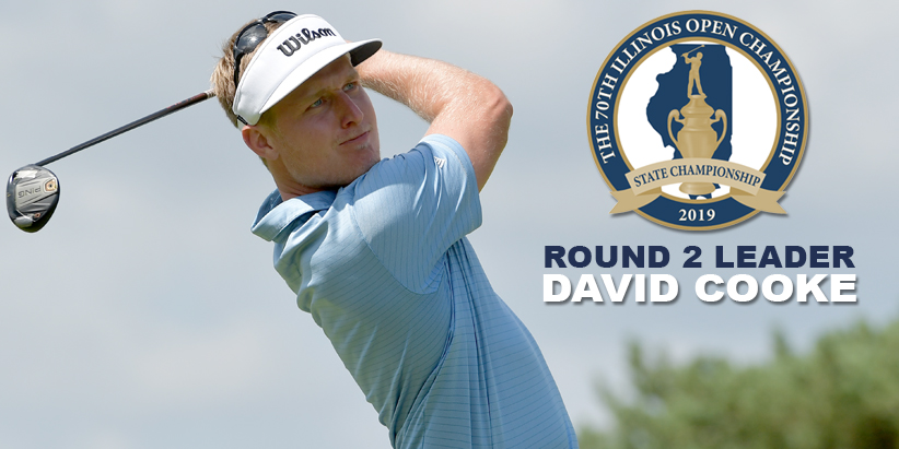 Past Champion Holds 36-Hole Lead at 70th Illinois Open