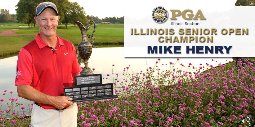 Henry Wins 2019 Illinois Senior Open in Dramatic Fashion