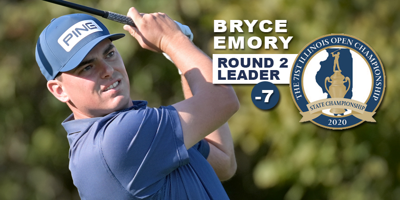 Emory Ties Modern-Day Course Record, Holds Four Stroke Lead
