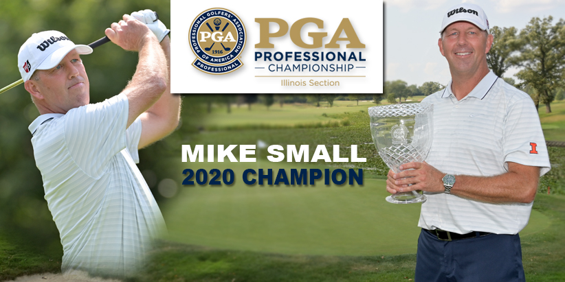 Small Wins 13th Illinois PGA Professional Championship