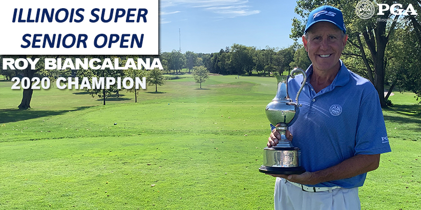 Biancalana Wins 2020 Illinois Super Senior Open