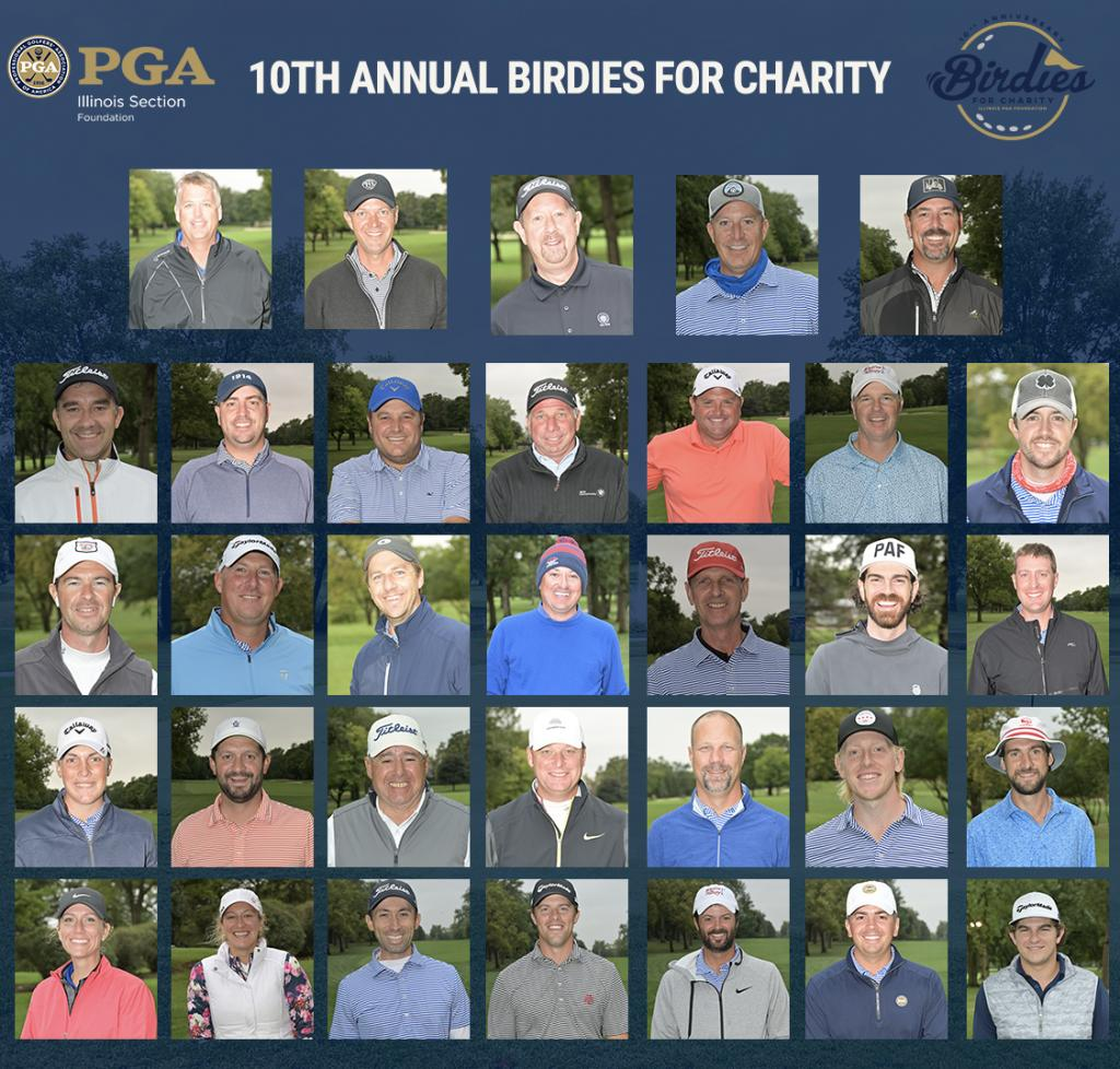 Illinois PGA Foundation 10th Anniversary Birdies for Charity Raises Over $350,000, Surpasses $2 Million Total Raised