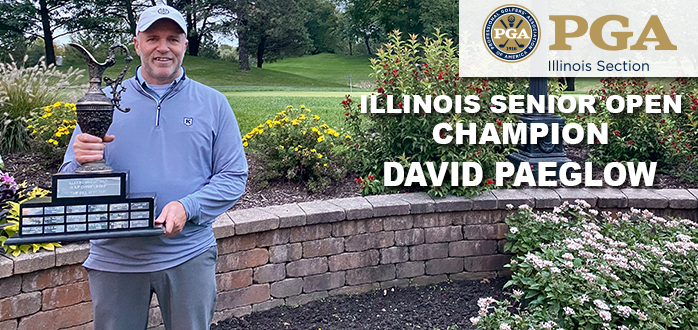 Paeglow Goes Wire-to-Wire to Win the 2020 Illinois Senior Open Championship