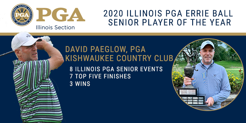 Paeglow Wins First Career Illinois PGA Errie Ball Senior Player of the Year Award