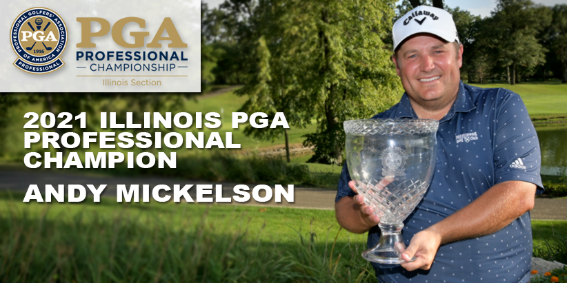 Mickelson Wins First Career Illinois PGA Professional Championship