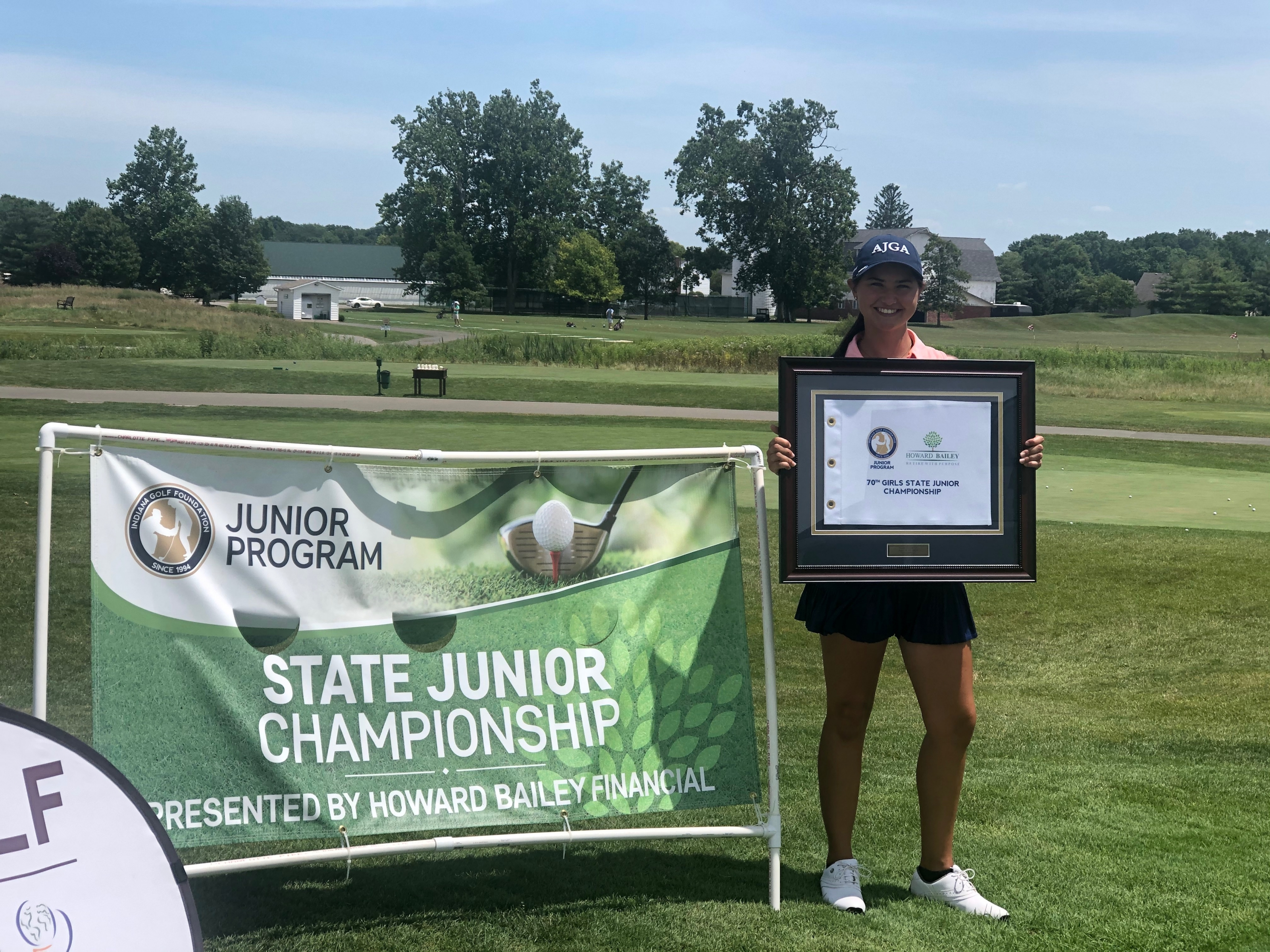 Russell Secures Victory at 70th Howard Bailey Financial, Inc. Girls State Junior Championship