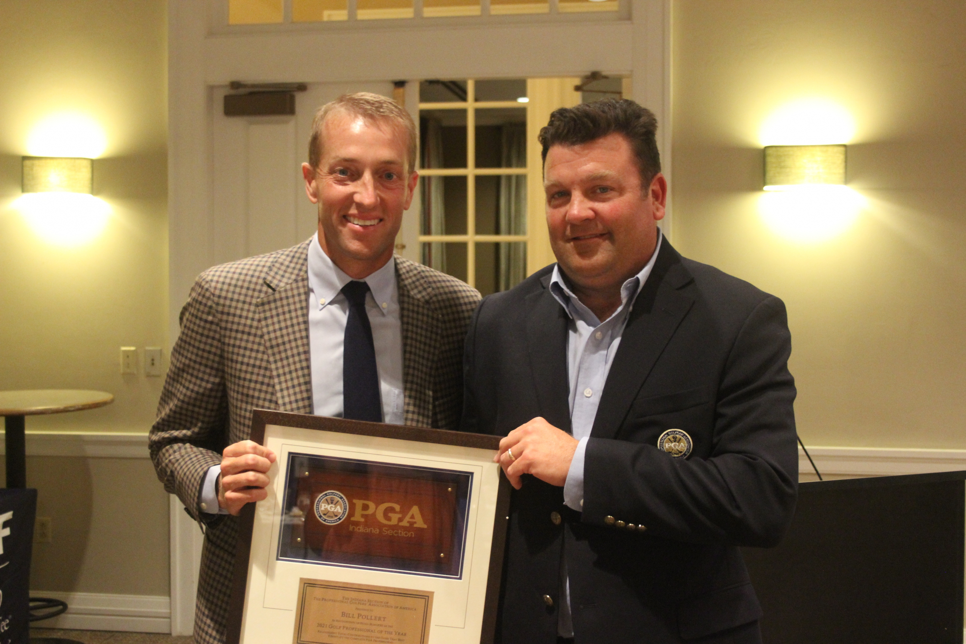 Bill Pollert Recognized as 2021 Indiana PGA Golf Professional of the Year; Brittany Kelly Honored as the 2022 Recipient