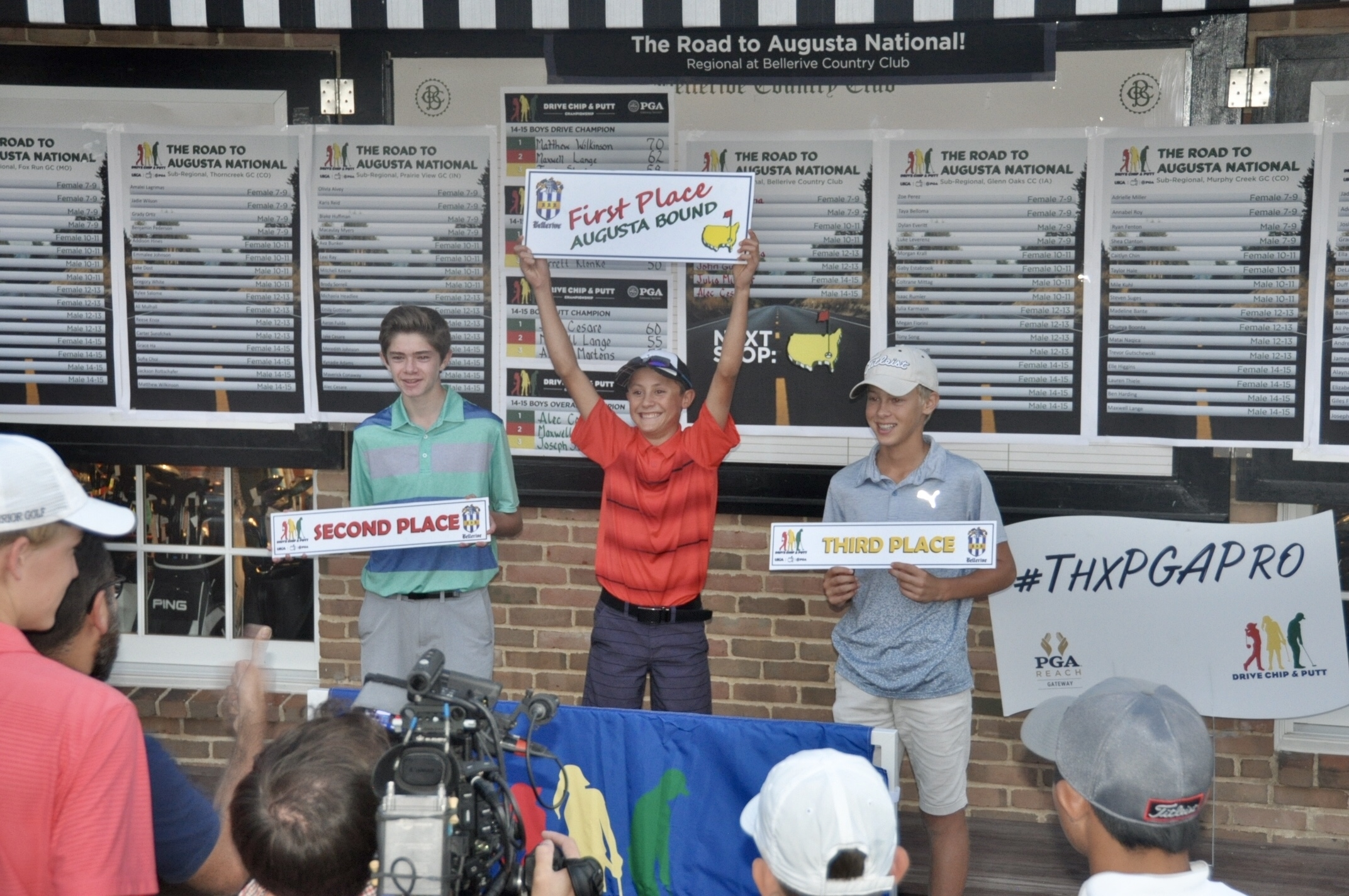 DRIVE, CHIP AND PUTT REGIONAL CHAMPIONS EARN INVITATIONS  TO NATIONAL FINALS AT AUGUSTA NATIONAL GOLF CLUB - INCLUDING INDIANA'S ALEC CESARE