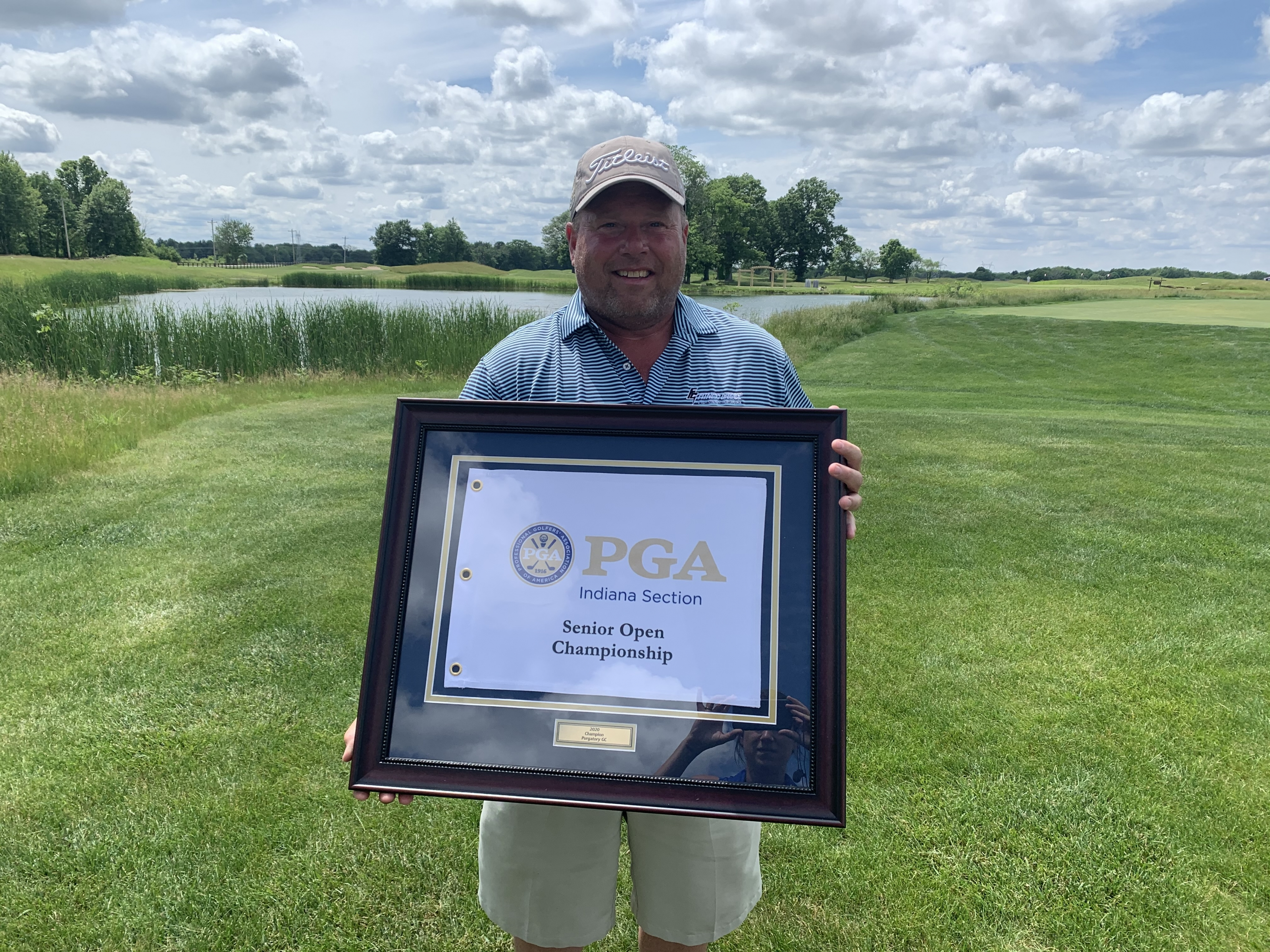 O'Toole Comes from Behind to Win Senior Open