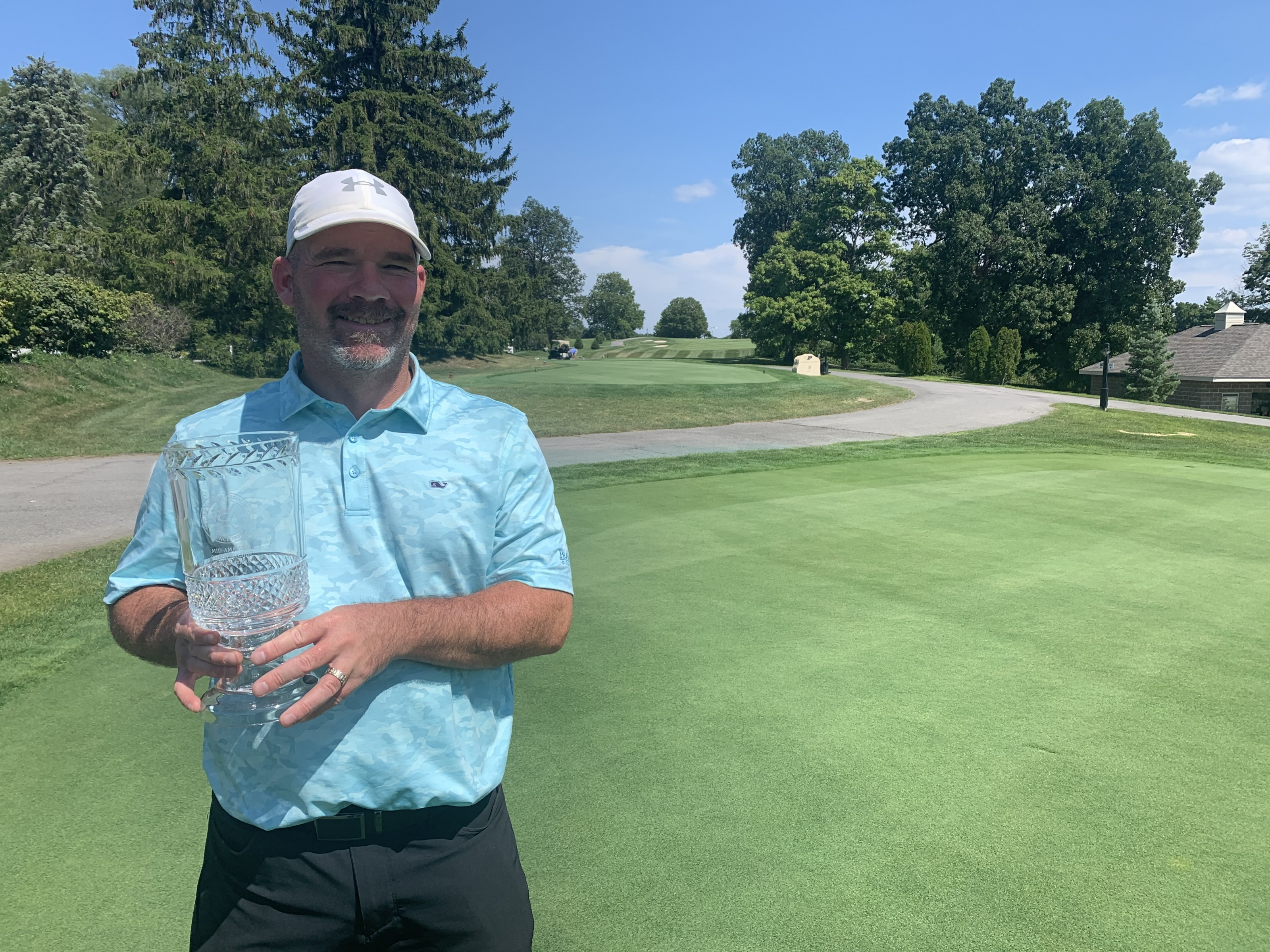 Sean Rowen Wins Third Mid-Amateur Championship
