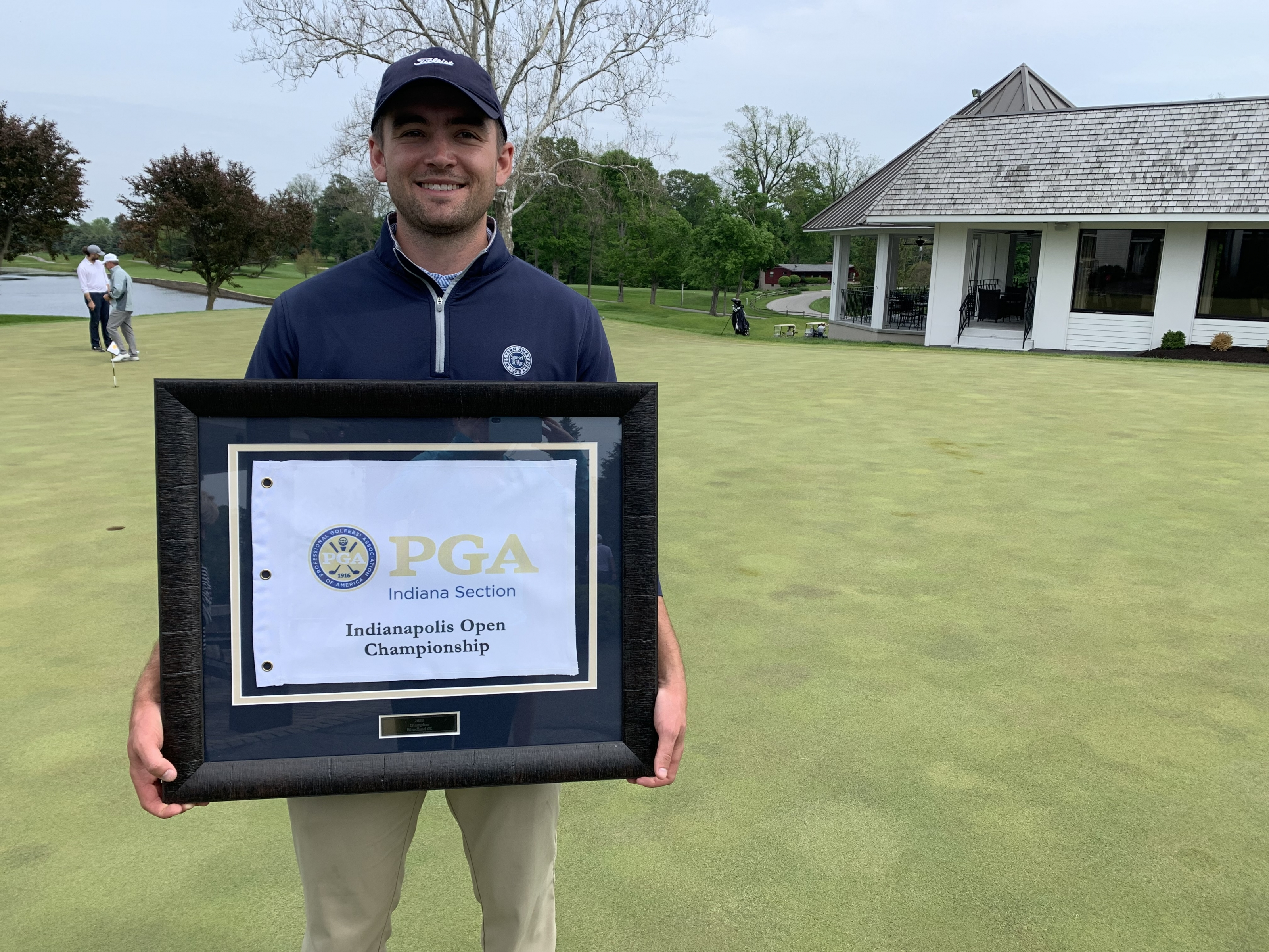 Wiseman Wins Indianapolis Open by One Shot