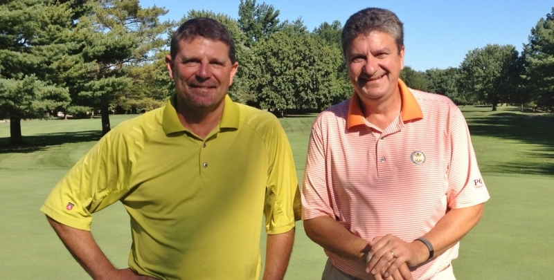 From left to right: Tournament Director Todd DeHaven and Executive Director Mike David