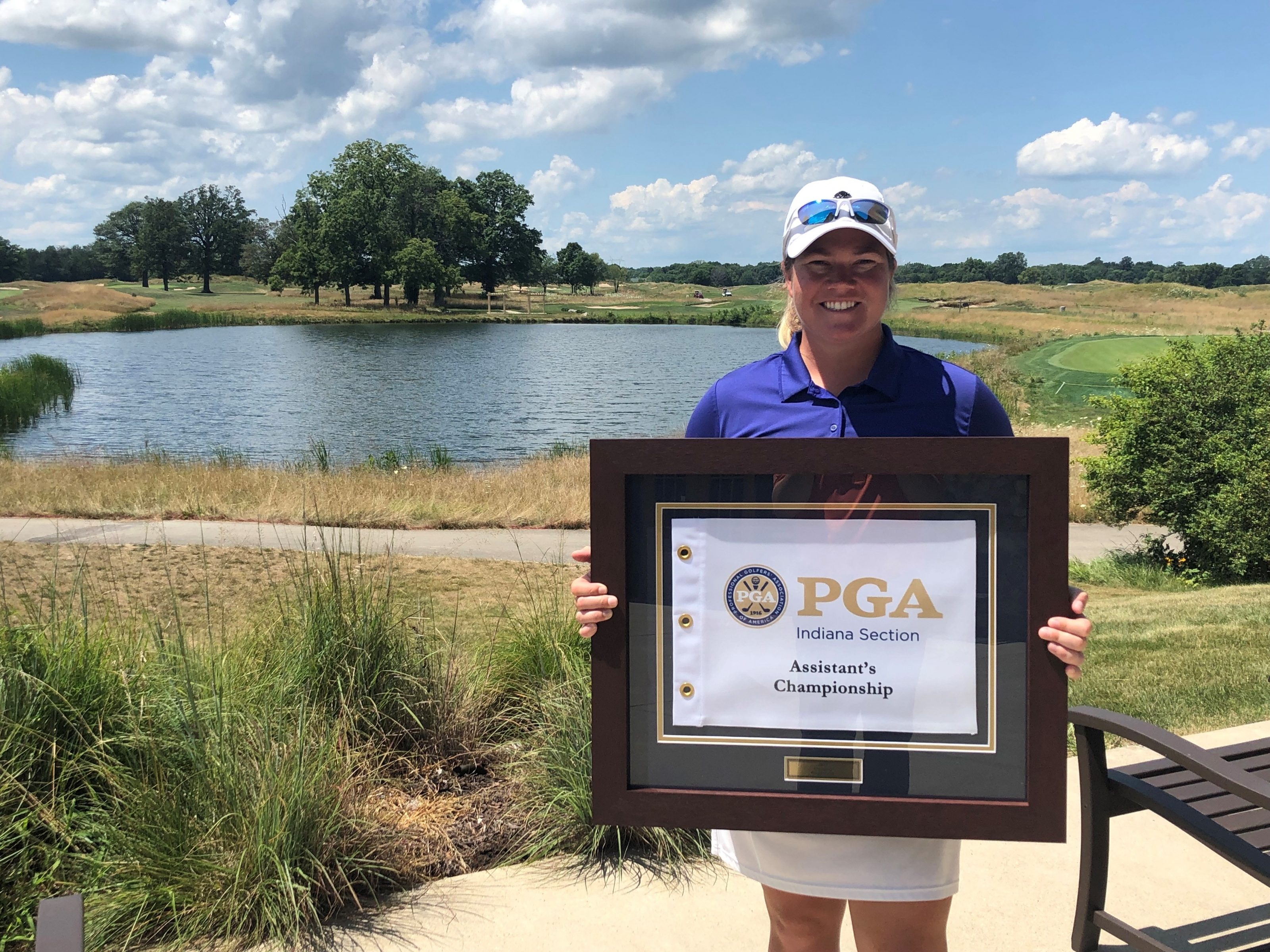 Kelly Becomes First Female to Win Indiana PGA Assistant Professional Championship