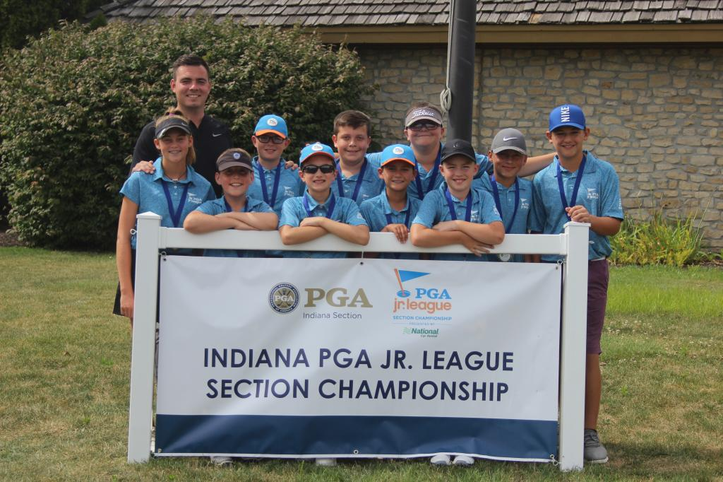 Fort Wayne #1 All Stars Win PGA Jr. League Indiana Section Championship