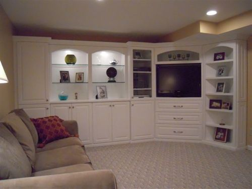 Basement Custom Cabinets