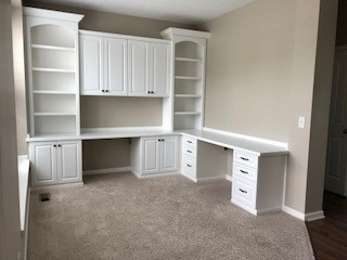 Incredible Custom Home Office Cabinets Built In Storage Indianapolis In Download Free Architecture Designs Jebrpmadebymaigaardcom