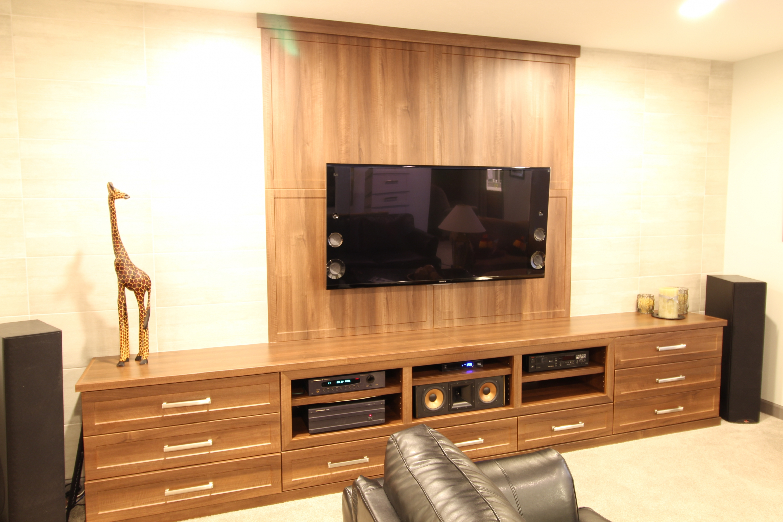 Home Theater Cabinets Custom Media Centers Carmel