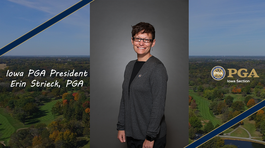 Strieck Elected President of the Iowa PGA Section