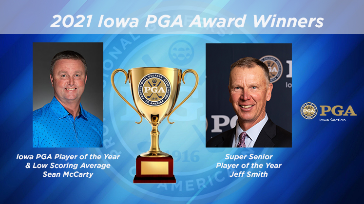 McCarty Wins Player of the Year/Low Scoring Average And Smith Wins Super Senior Player of the Year