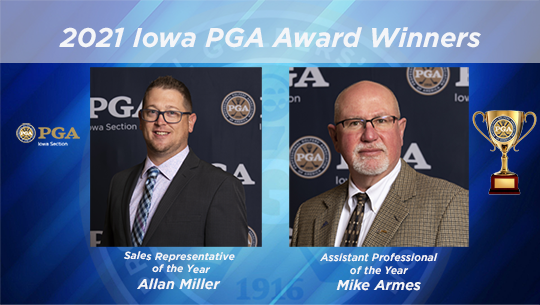 Mike Armes Wins Assistant Professional of the Year And Allan Miller Wins Sales Representative of the Year