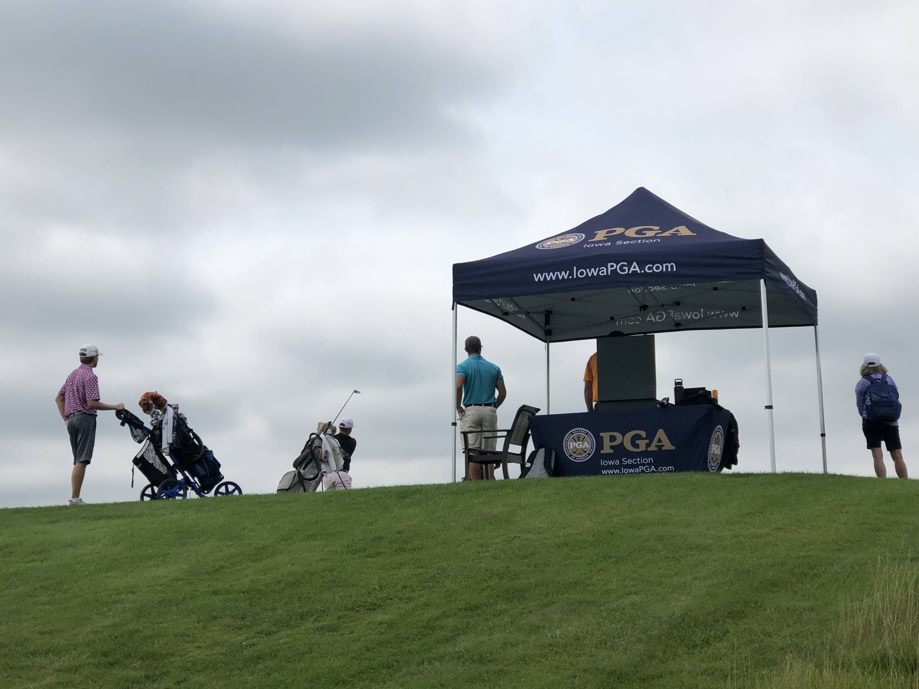 McCoy, Schaake & Brown Tie After Round Two of the 88th Iowa Open