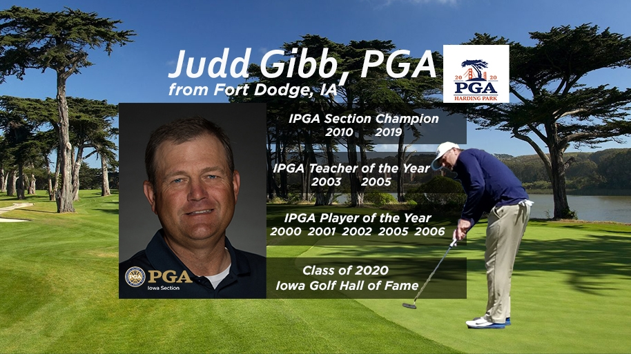Iowan Judd Gibb's Completes a Long and Winding Road to his First Major
