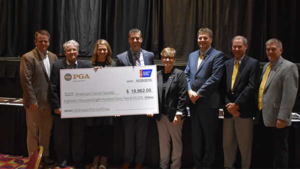 Iowa PGA Continues Partnership with the American Cancer Society ®
