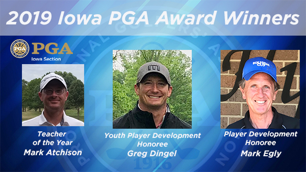Teacher of the Year Mark Atchison, Dingel and Egly Win Player Development Awards