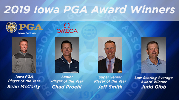 McCarty, Proehl, Smith Win Player of the Year, Gibb Low Scoring Average
