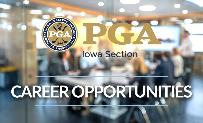 Career Opportunities at the Iowa PGA Section