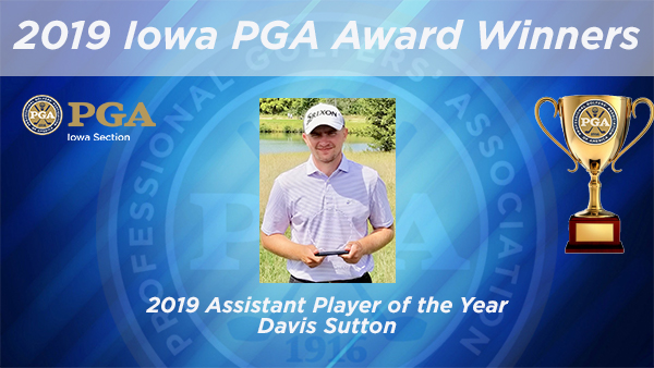 Sutton Wins Iowa PGA Assistant Player of the Year