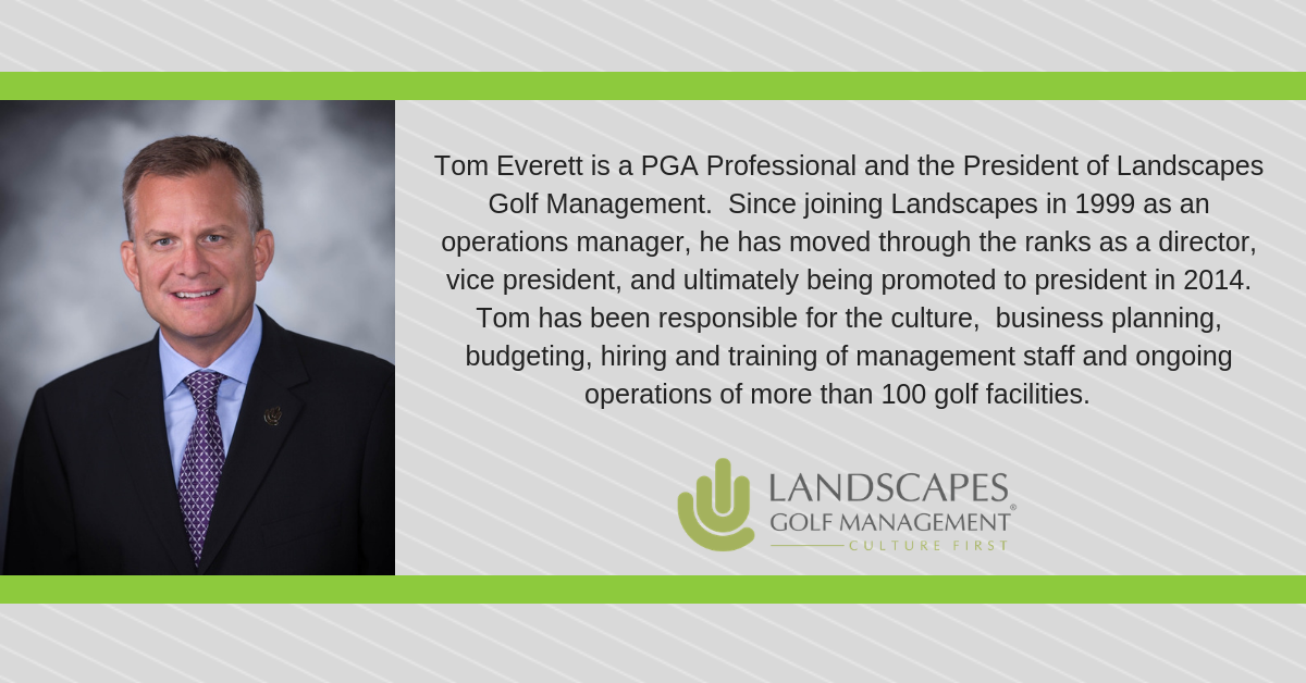 Culture comes First at Landscapes Golf Management