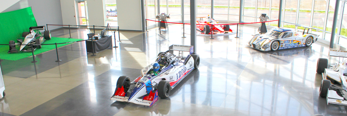 Dallara IndyCar Factory Interactive Hall