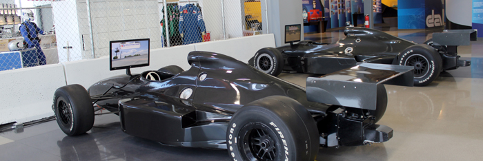 Dallara IndyCar Factory Racing Simulators