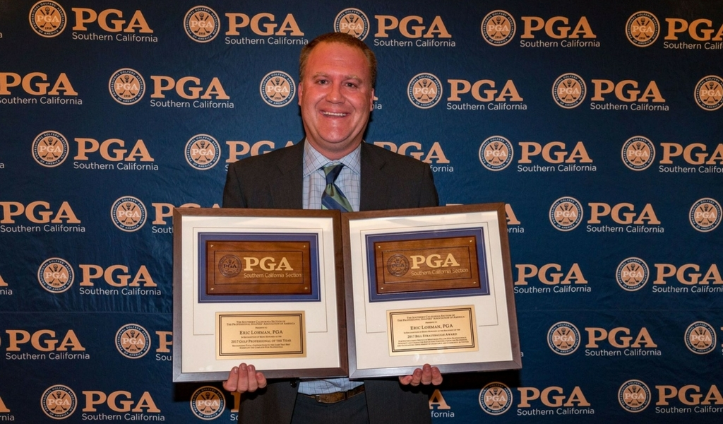 Eric Lohman, PGA GM, SoCal PGA Pro of the Year