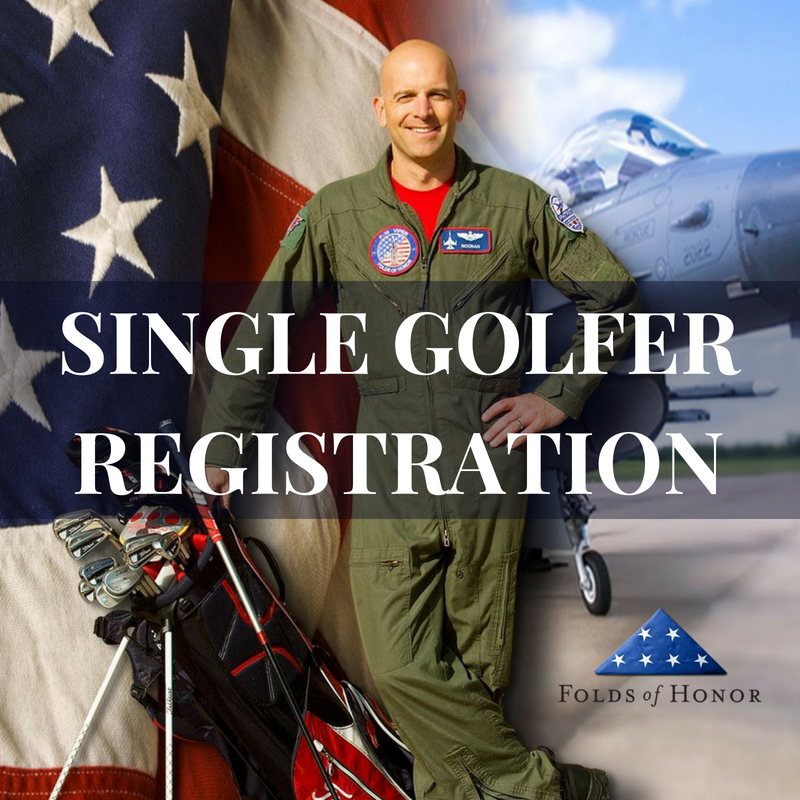 Single Golfer Registration | Folds of Honor
