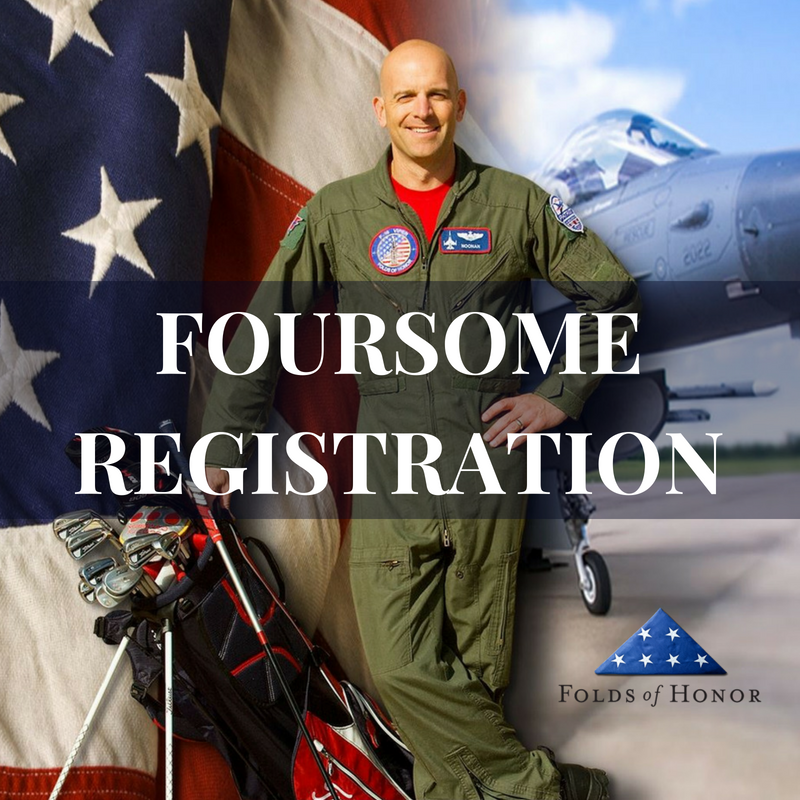 Foursome Golfer Registration | Folds of Honor