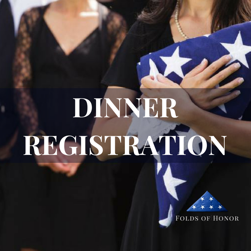 Dinner Registration | Folds of Honor