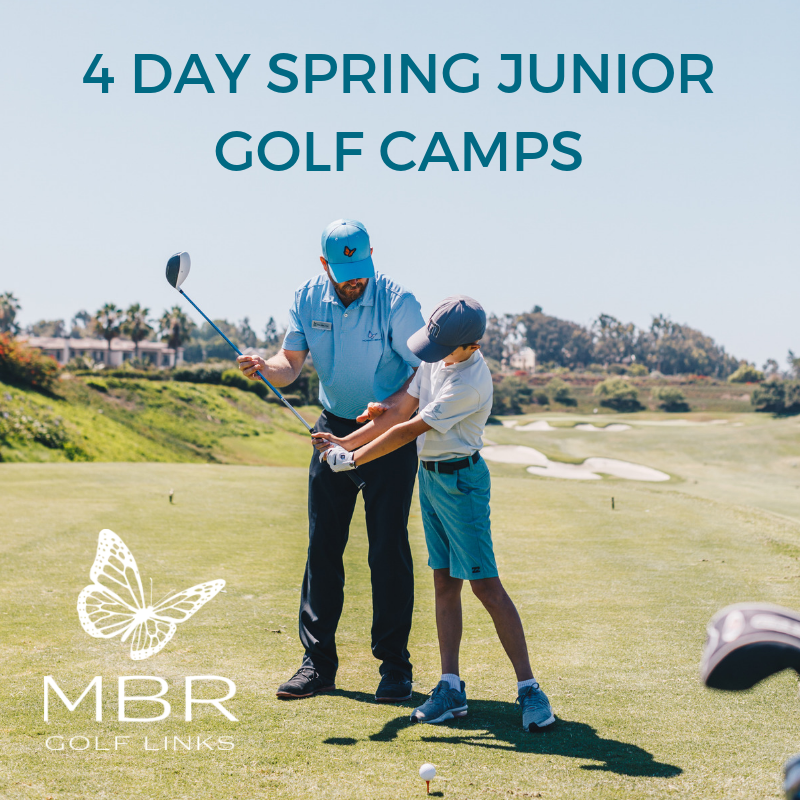 4 Day Spring Junior Golf Camps (Single Day)