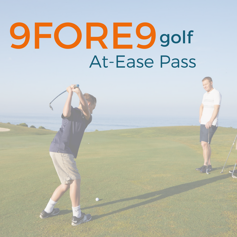 9FORE9 Golf At-Ease Pass
