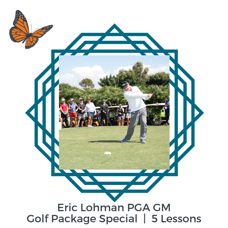 Eric Lohman PGA GM 5 Lesson Package