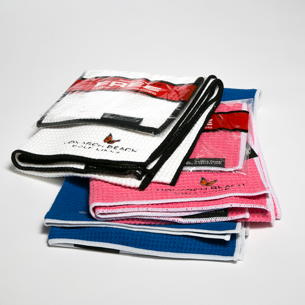 Golf Towel: Club Glove