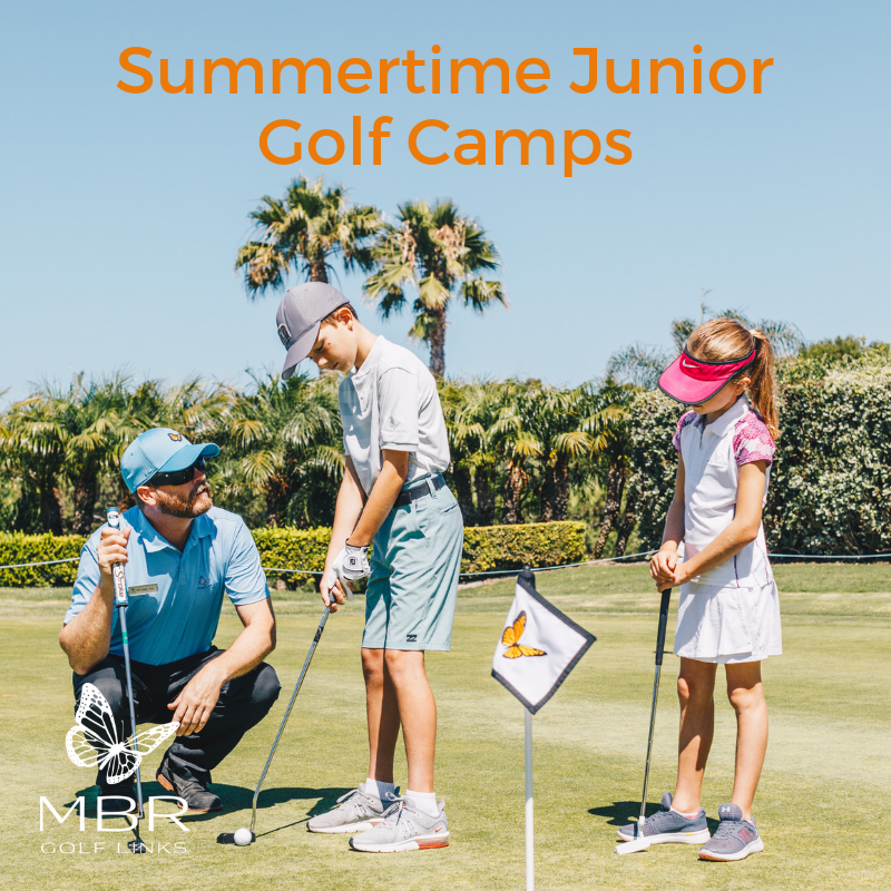 Summertime Junior Golf Camps JUNIOR CROWN CLUB CARDHOLDER ONLY (Full Camp)