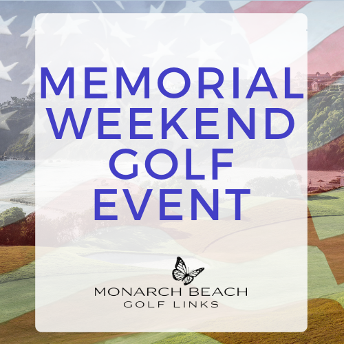 Memorial Weekend Golf Event  |  Sunday, May 26th