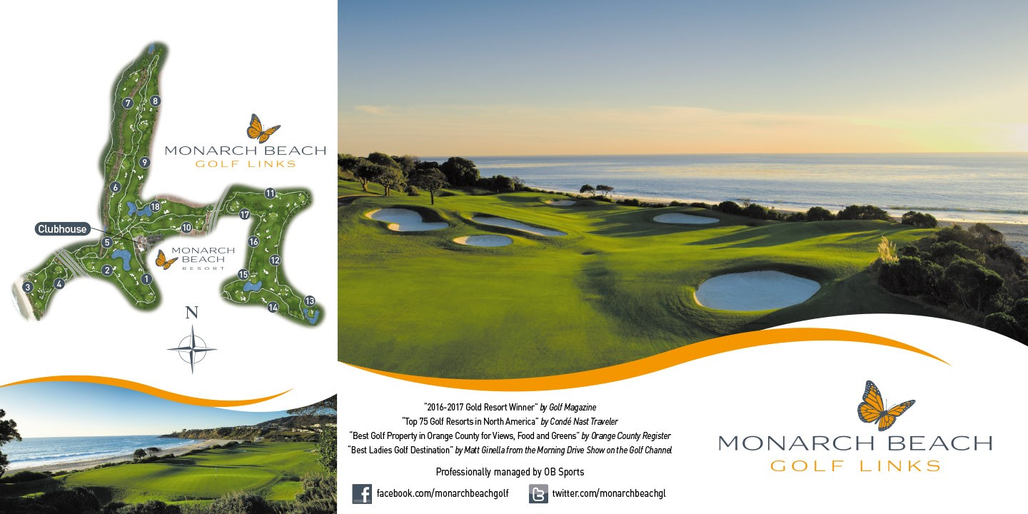 Monarch Beach Golf Links - Scorecard, Flyover & Tips from ... on golf course layout maps, golf green maps, golf courses map of us, golf yardage book,