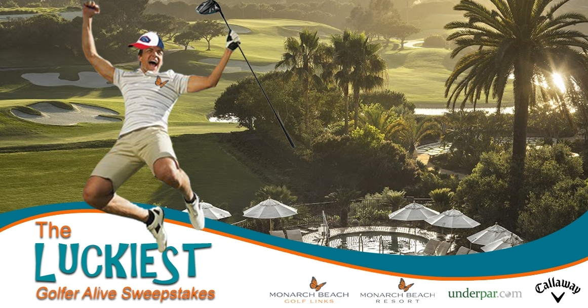 The Luckiest Golfer Alive Sweepstakes